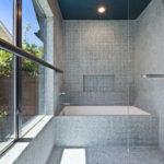 New bathroom construction