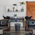 Petaluma Hair Company wash station construction