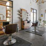 Petaluma Hair Company work station remodel